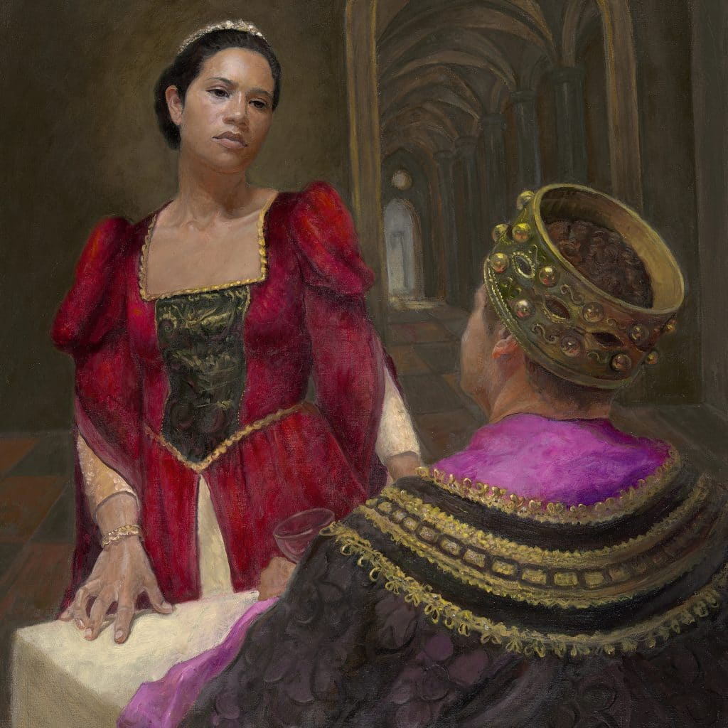Queen Esther before the King