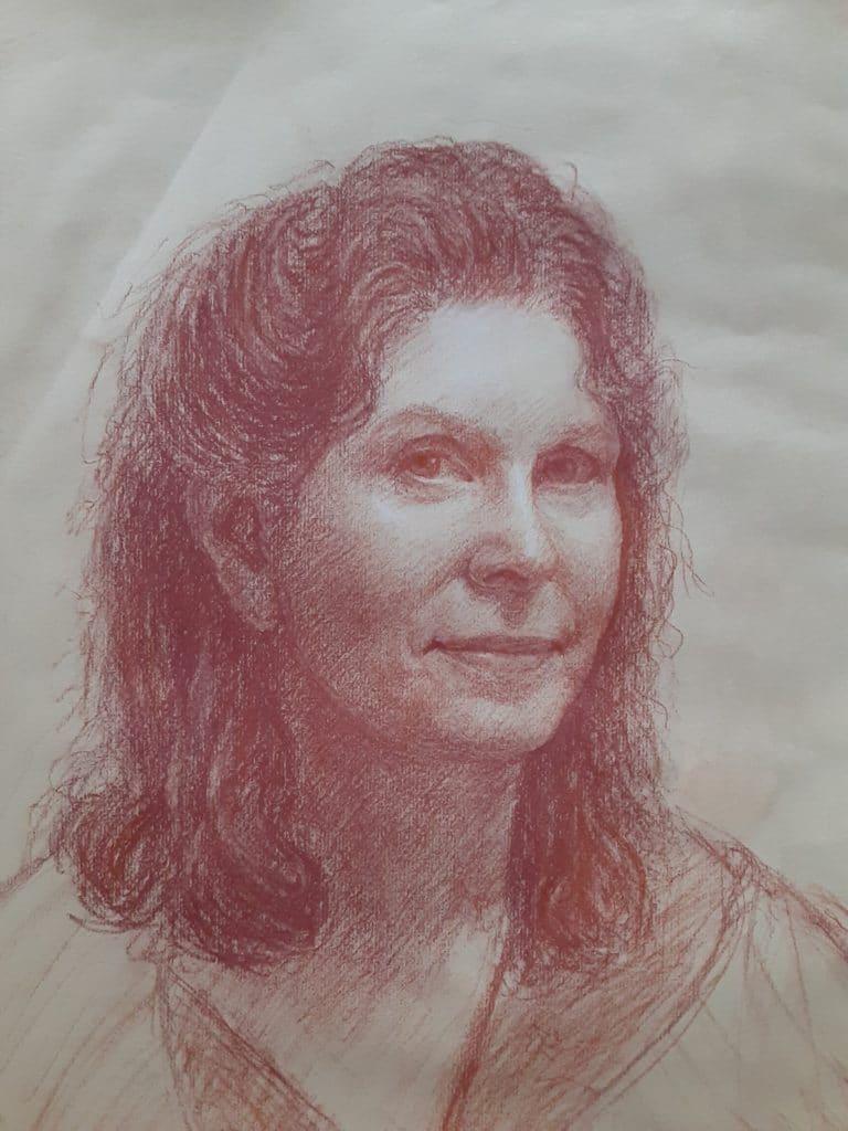 Self-portrait in Quarantine