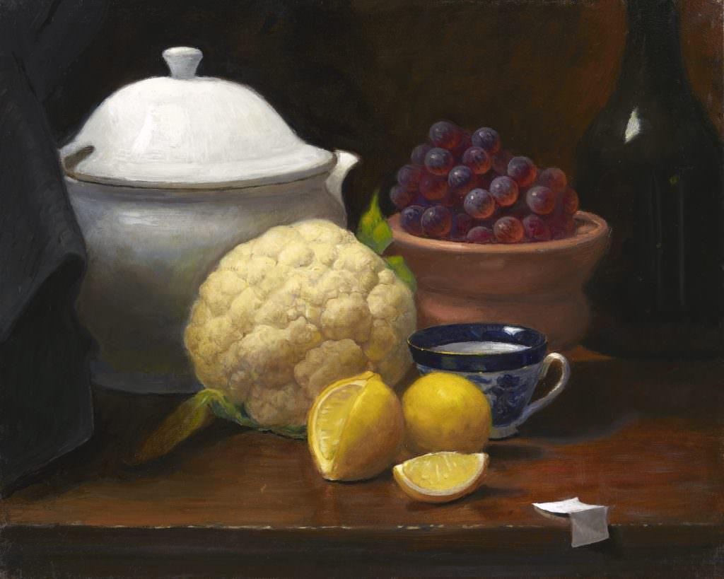cauliflower, grapes, lemons jpg